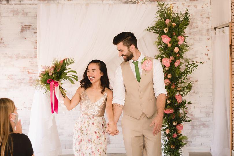A happy couple!