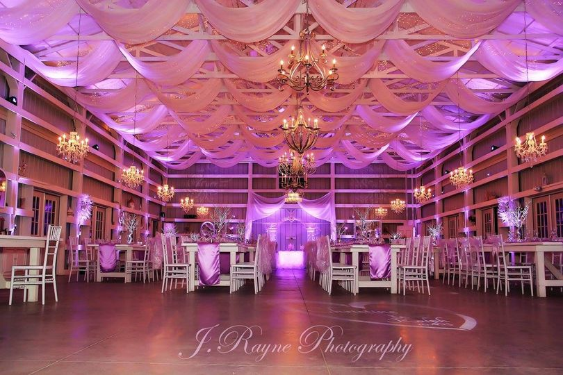 michael anthony productions purple up lighting and