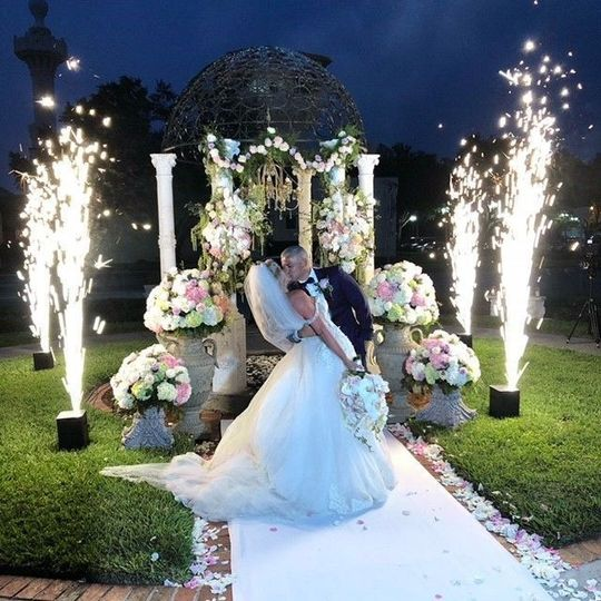 Cool Fountain Sparkler Lights