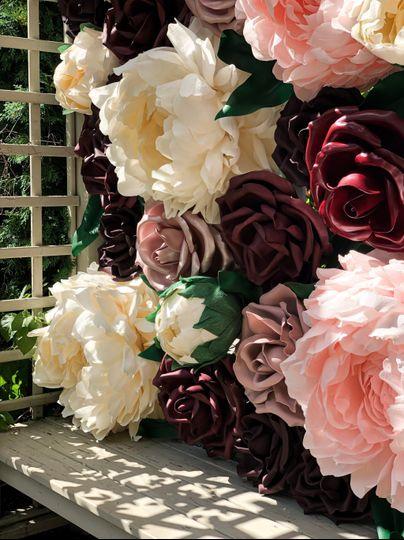 Up Close Giant Flower Details