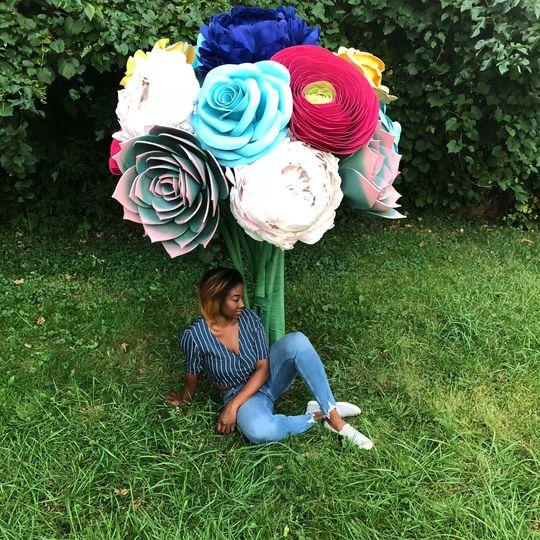 Giant Flower Bouquet