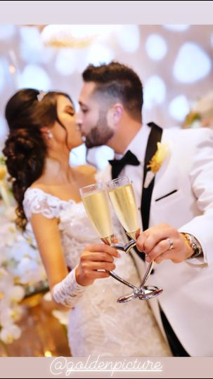 Cheers to happily ever after
