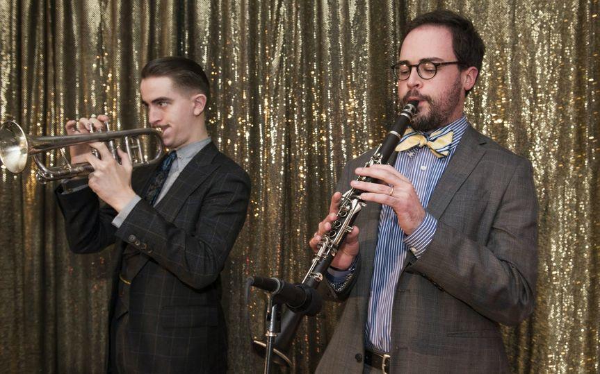 Mike Davis (trumpet), Jay Rattman (clarinet)