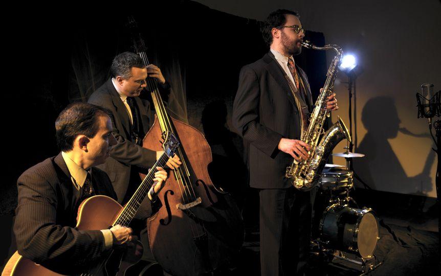 The Dan Martin Trio: guitar/bass/sax