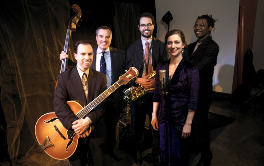 The Dan Martin Quintet: guitar/bass/drums/sax/vocals
