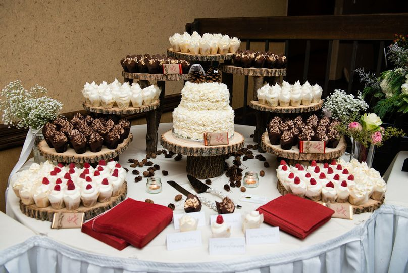 Cake table setup