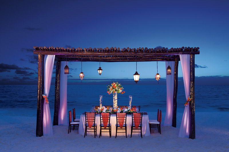 Secrets Wedding Reception