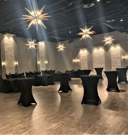 A starlit cocktail reception