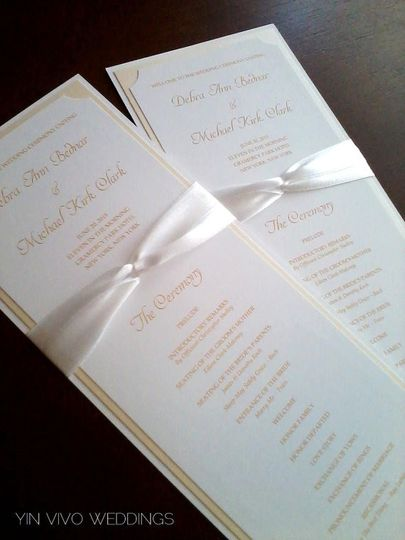 yin vivo weddings invitations new york ny weddingwire