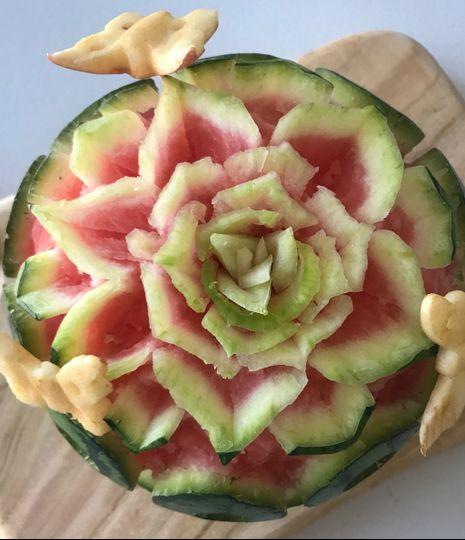 Watermelon Art Carving