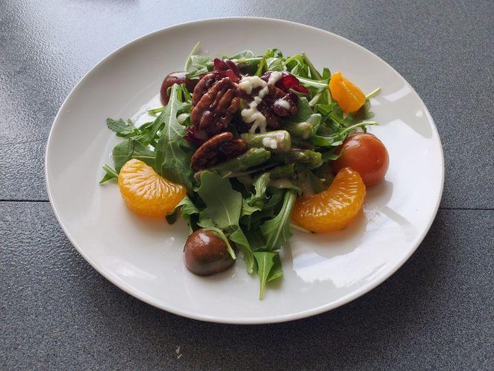 Arugula Salad, grand berry