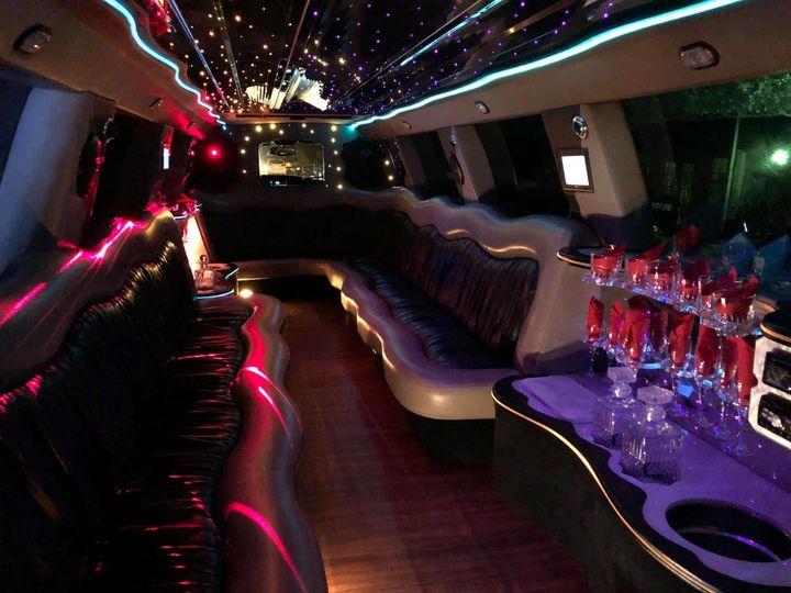 Limousine interior design