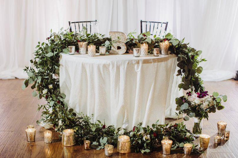 Sweetheart table goals