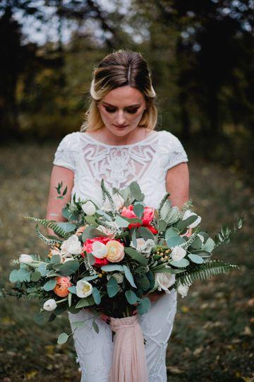 Bride style shoot