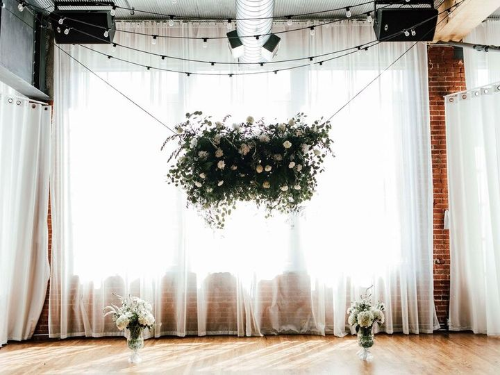Tmx Suspended Greenery And Flower Piece At Everly 51 977771 159043107186619 Kansas City, MO wedding florist