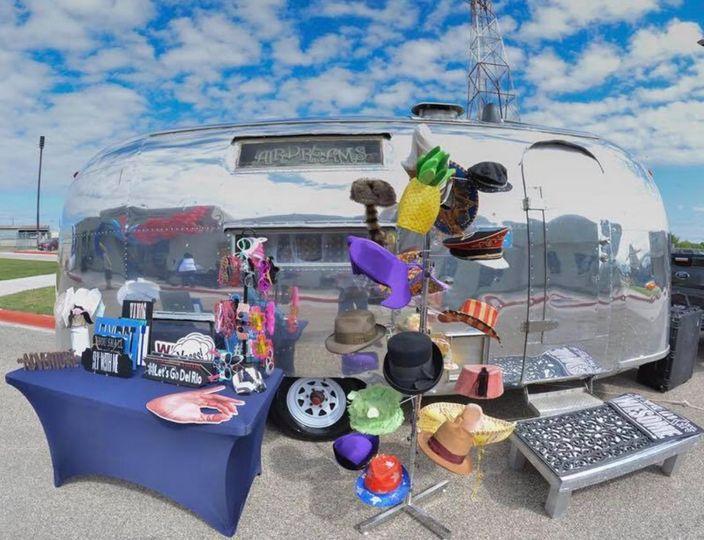 Airstream photo booth