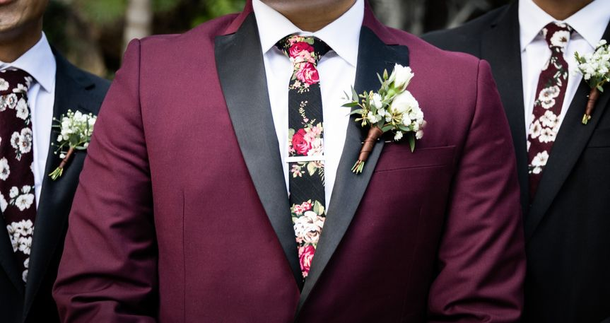 Suit and tie