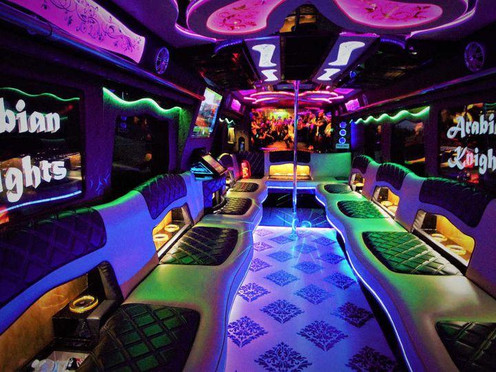 Tmx Atlantis Party Bus Interior 13 51 1048771 Inglewood, CA wedding transportation