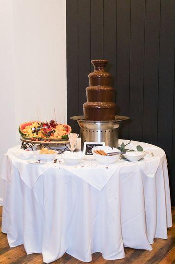 Chocolate Fountain & Treats!