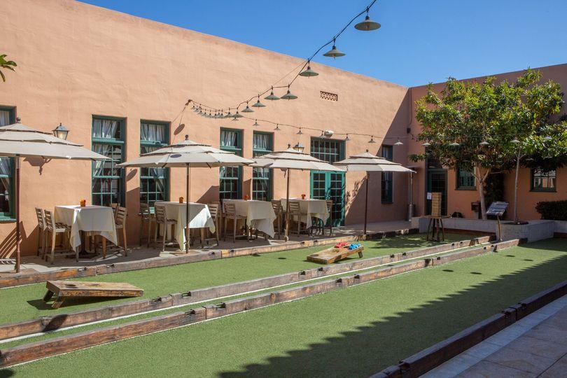 Bocce Courtyard