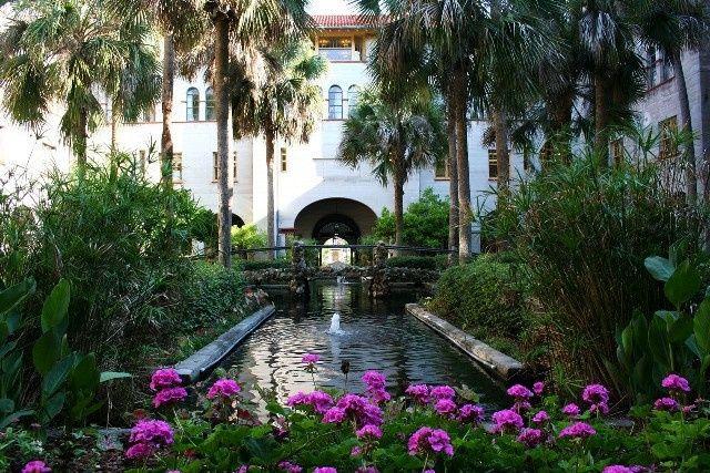 Lightner museum garden