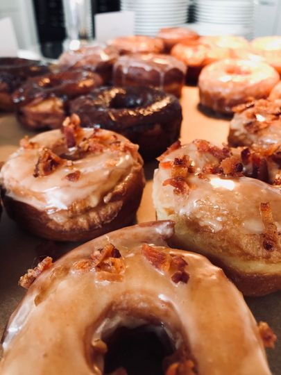 Freshly made donuts
