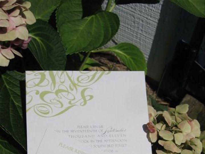 Tmx 1313946610731 IMG2598 Fairfield wedding invitation