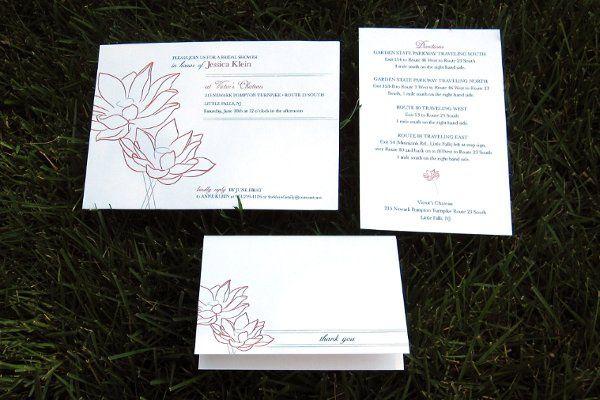 Tmx 1313946901653 IMG2668 Fairfield wedding invitation