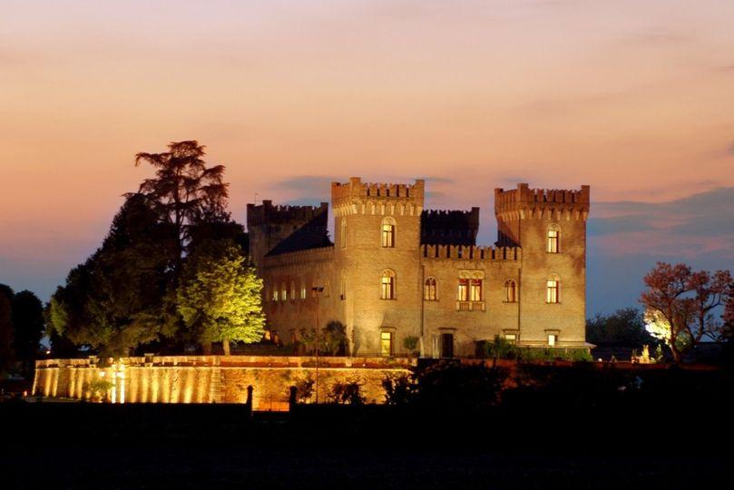 castello notturno castagna