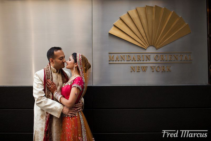 Wedding at The Mandarin NYC