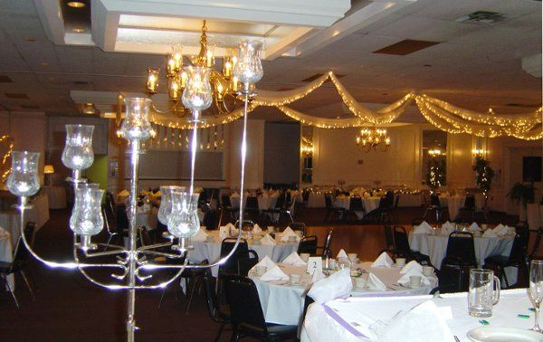 Fabric Lighted Ceiling, Candelabra