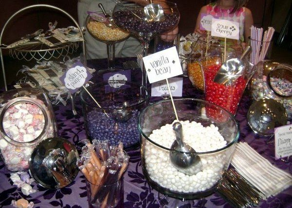 Candy table I did for my own wedding 6/3/11.