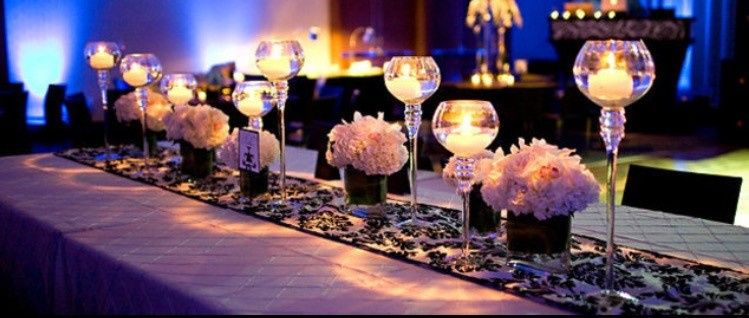 Beautiful Table setting and centerpieces available