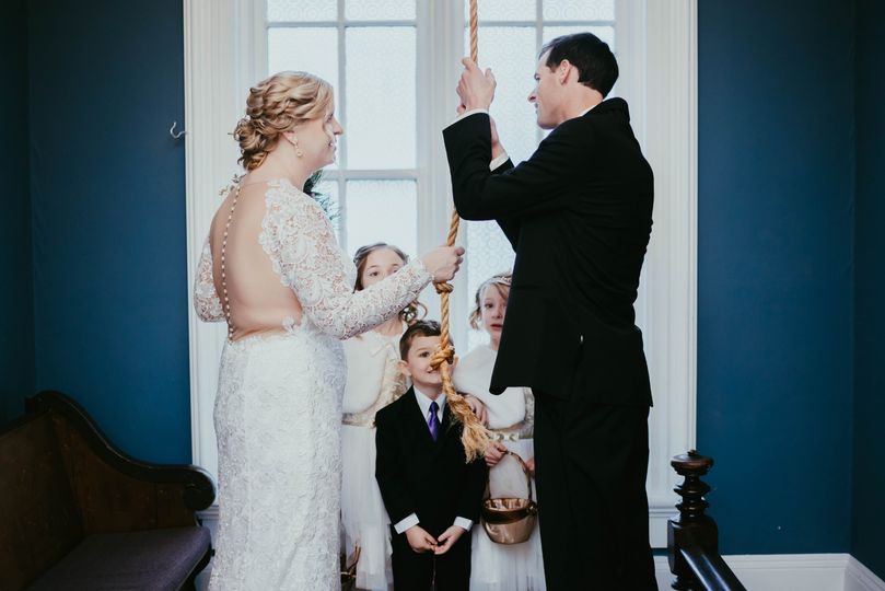 Ringing the wedding bells