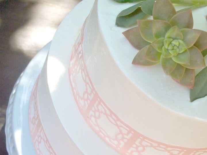 Tmx 1522967676 5480e41e475f8bdc 1522967674 2713ab3eee3bc89e 1522967671287 1 PinkCake2 Santa Barbara wedding cake