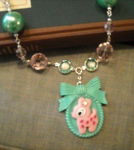 Tmx 1300122254724 DeerNecklace1 Streamwood wedding jewelry