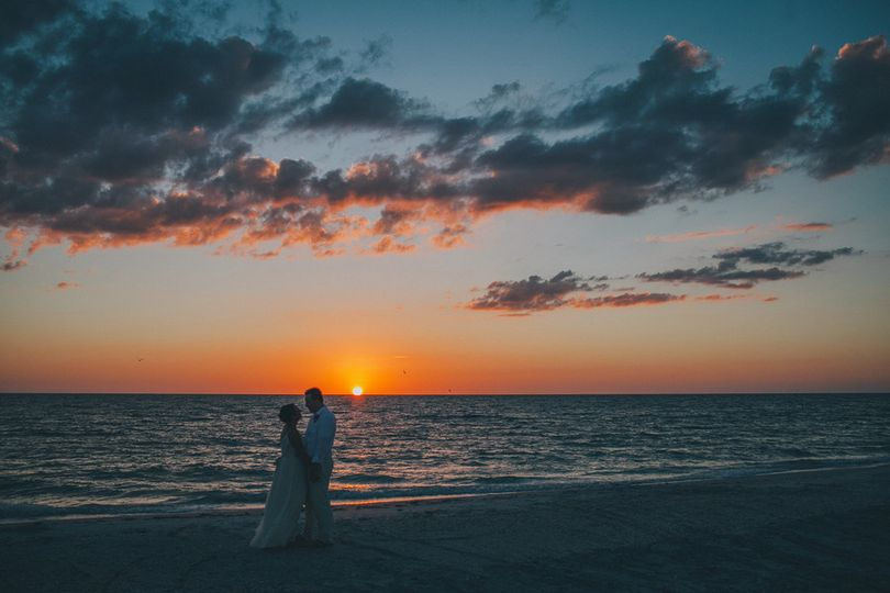 palm island beach wedding 1301