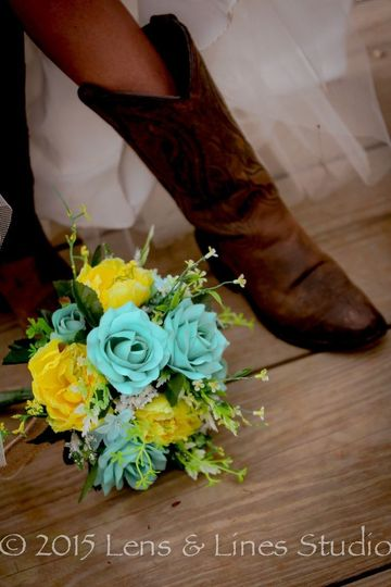 boot and bouquet