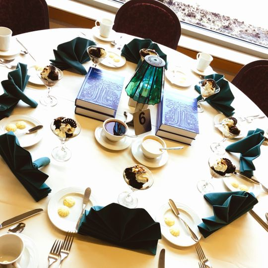 In-House Catering Table set-up