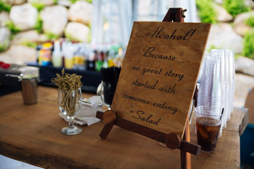Table signage