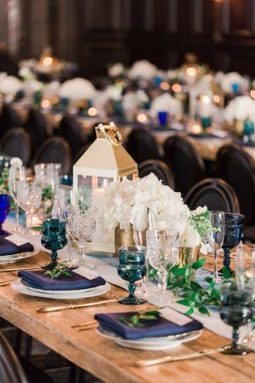 Table decor and floral design