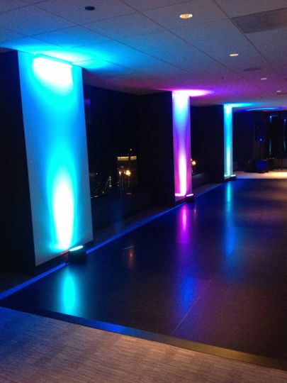 Grand DJ Entertainment provides top quality Uplighting for your venues space. Take your wedding to...