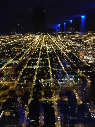 The City of Chicago is awesome and looks even better when up 1454 feet in the SkyDeck in the Willis...