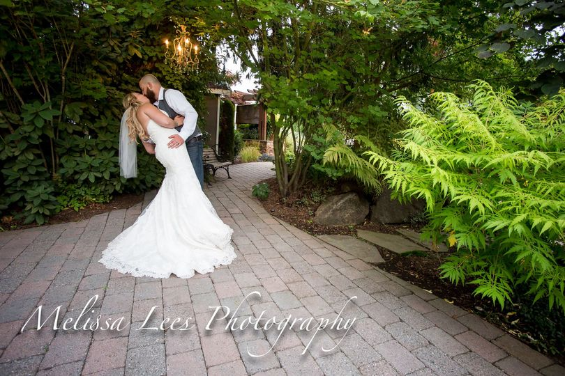 Romantic, beautiful, & amazing gardens! Photo by Melissa Lees Photography