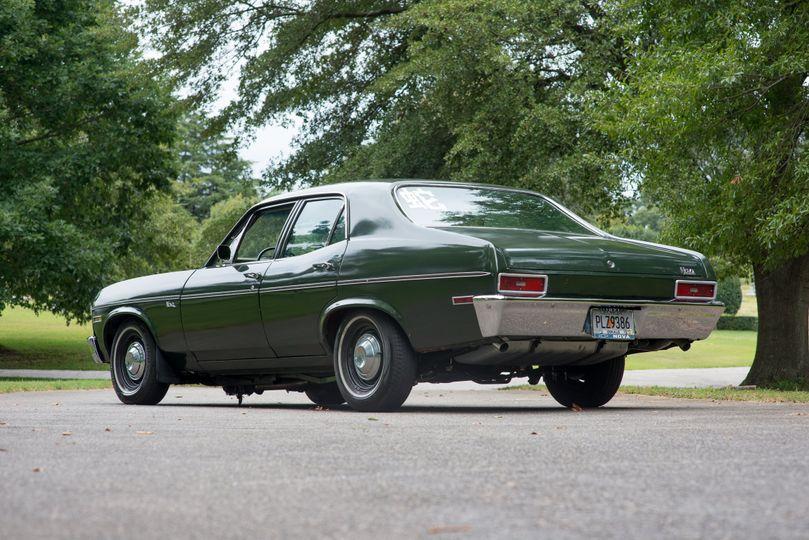 1971 Chevy Nova rear