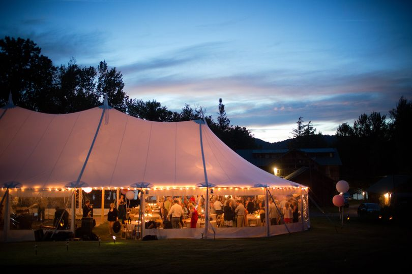 Tidewater Tents with Lighting
