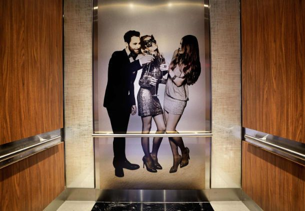 Artful details are around every corner, including our state-of-the-art elevator system.