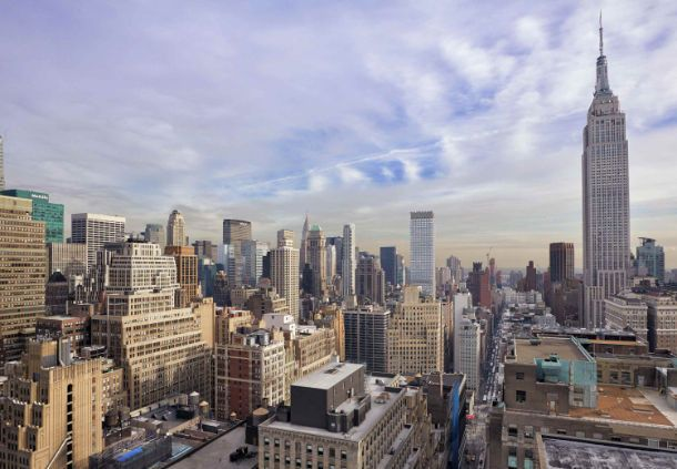 Enjoy the best views of Manhattan from our rooftop terrace at Rock & Reilly's.