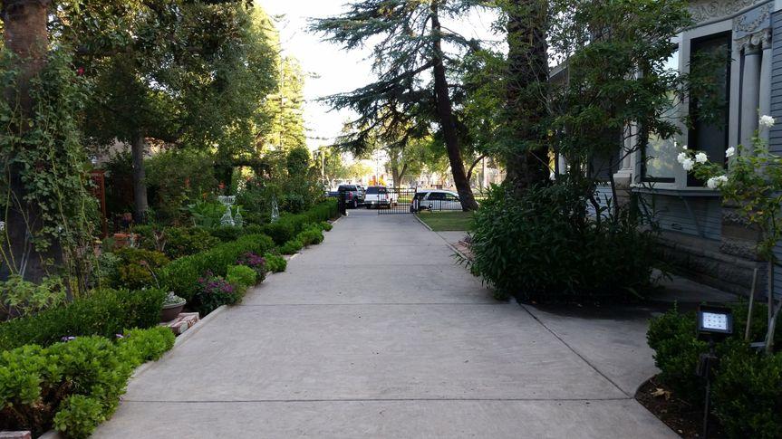 Rose Garden Walking Path
