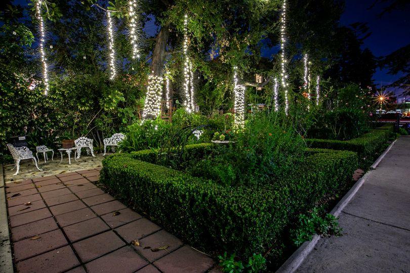 Rose Garden lighting